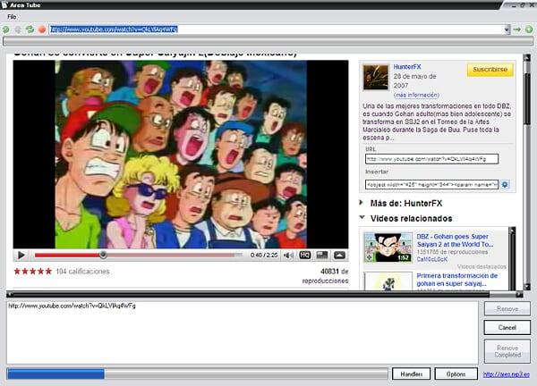Ares Tube ¡Descarga videos de You Tube! Ares
