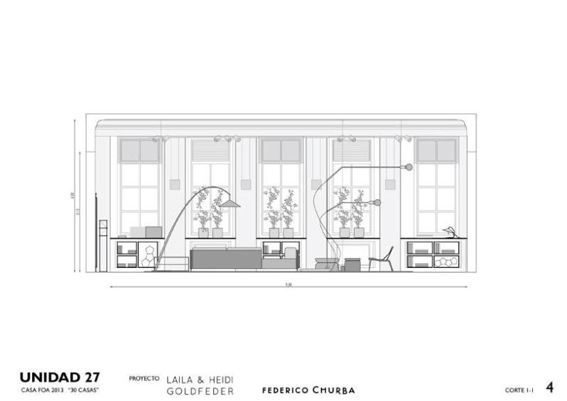 Casa FOA 2013: Unidad 27 - Federico Churba / Laila & Heidi Goldfeder