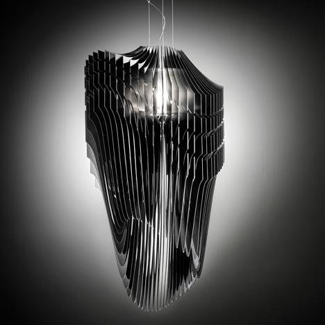 Milan Design Week 2013: Lámparas Aria y Avia - Zaha Hadid