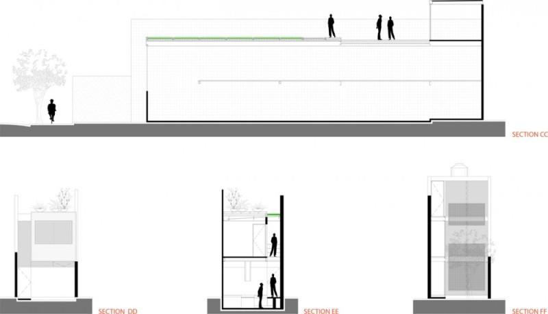 Casa 4 x 30 - CR2 Arquitectos + FGMF Arquitectos