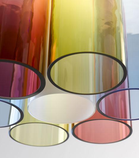 Milan 2013: Lámparas Jar RGB - Arik Levy