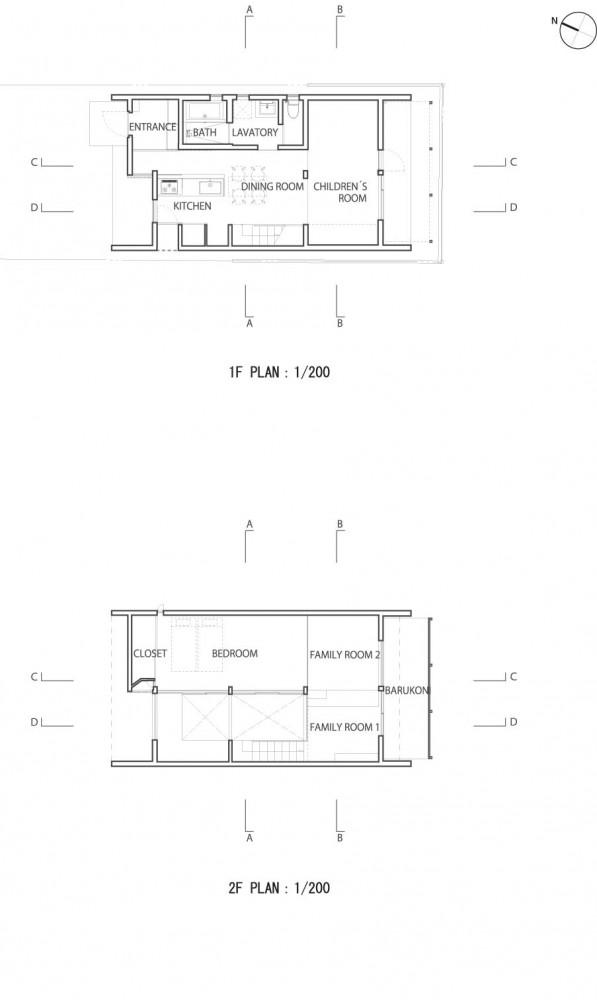 Casa de Muro Continuo - Akitoshi Ukai | AUAU