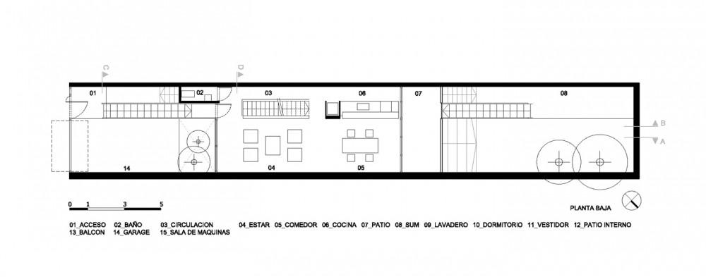Casa 5 x 30 - Estudio Borrachia arquitectos