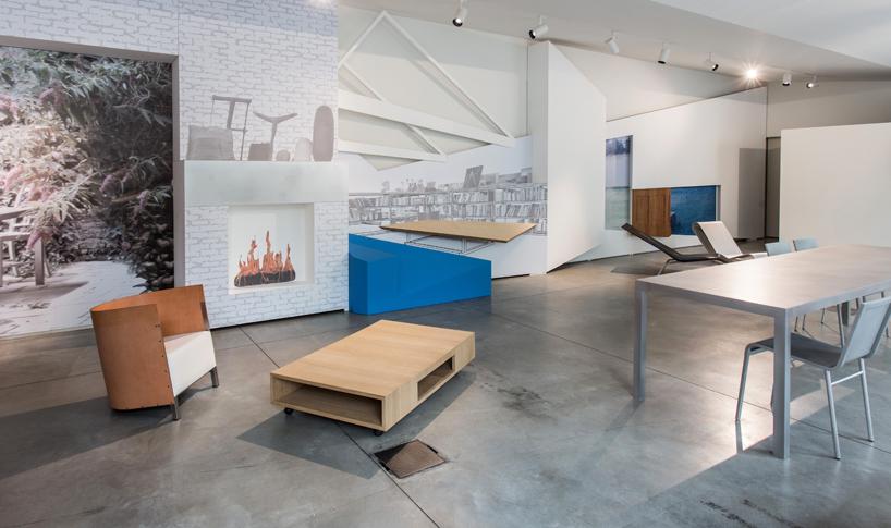 Milán 2014: OMA diseña la instalación para el lanzamiento de la colección de muebles de Maarten van Severen