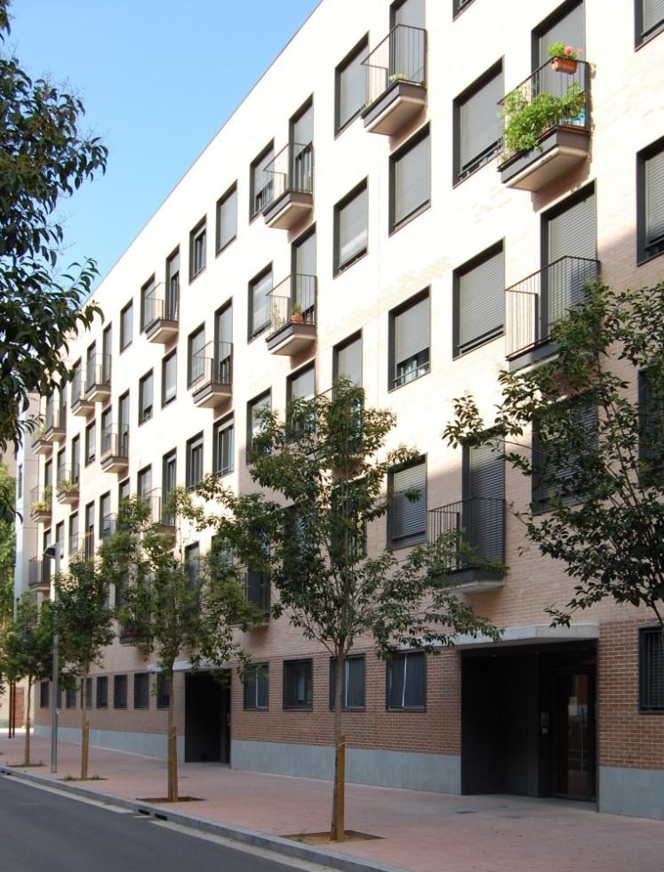 Departamentos en el barrio de Bon Pastor - SV Arquitectura