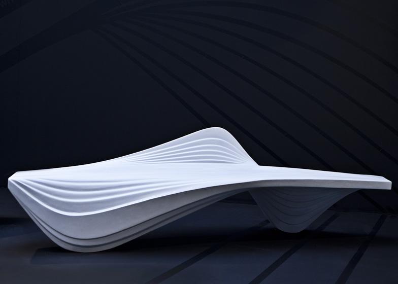 Milan Design Week 2013: Banco Serac - Zaha Hadid