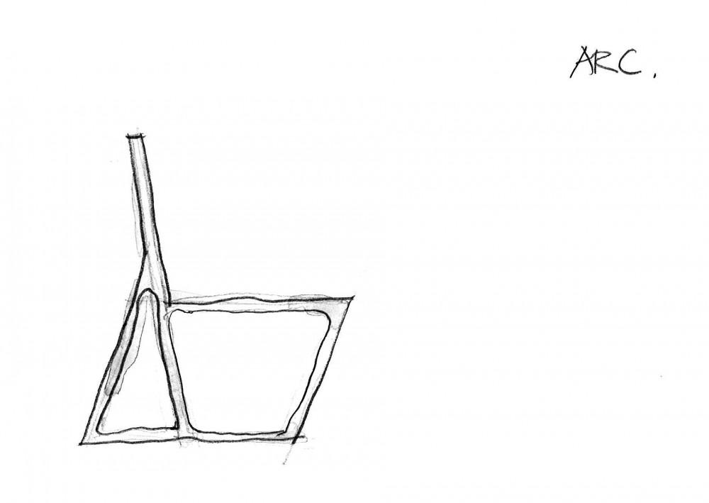 Mesa y silla ARC - Ramón Esteve