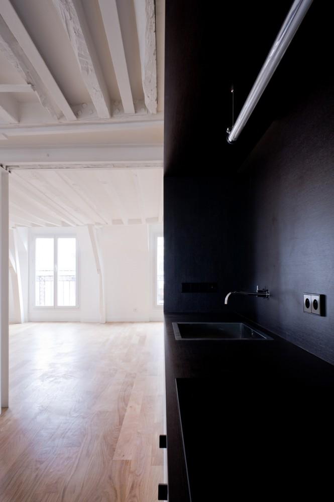 Renovación de un departamento parisino - Nicolas Reymond