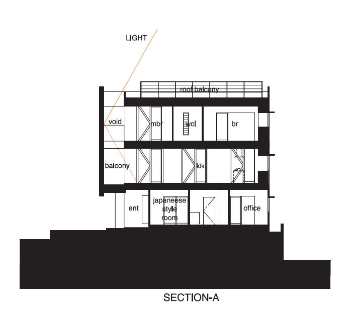 Casa en Kitabatake - NRM-Architects Office