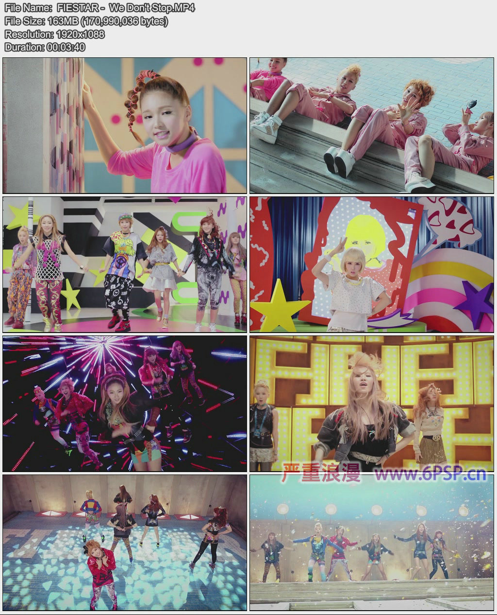 FIESTAR - We Don't Stop.MV.1080p
