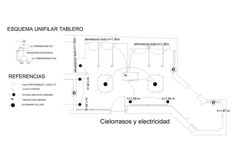 Casa FOA 2013: Baños Públicos PB - Estudio Arq.  María Inés Penas & Asoc.