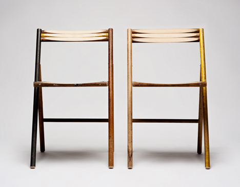 STEEL chair - Reinier de Jong