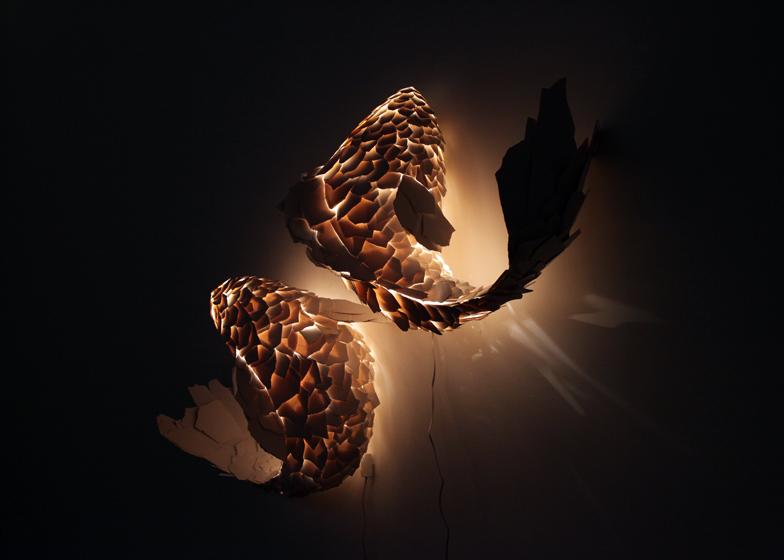 Lámparas Fish - Frank Gehry