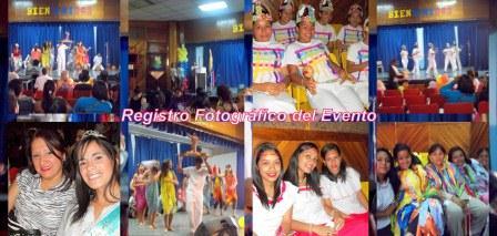 Registro del Evento de Manifestaciones Folklóricas