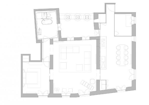Vivienda en el Barrio Gótico de Barcelona - YLAB Arquitectos