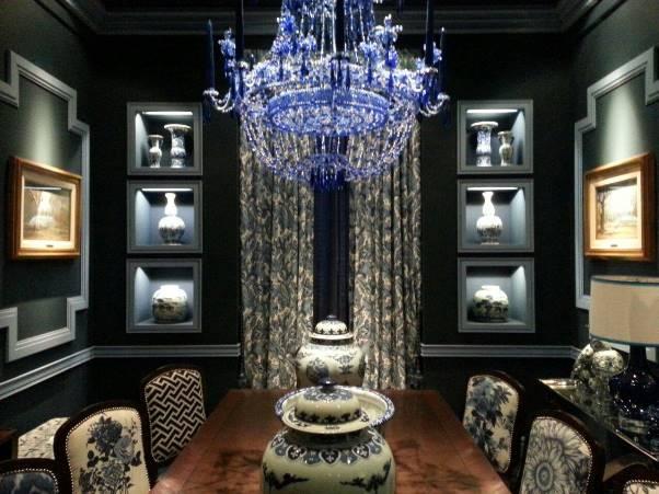 Casa FOA 2014: Comedor Blue Porcelain - Javier Iturrioz