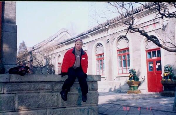 长春某一道观,2002