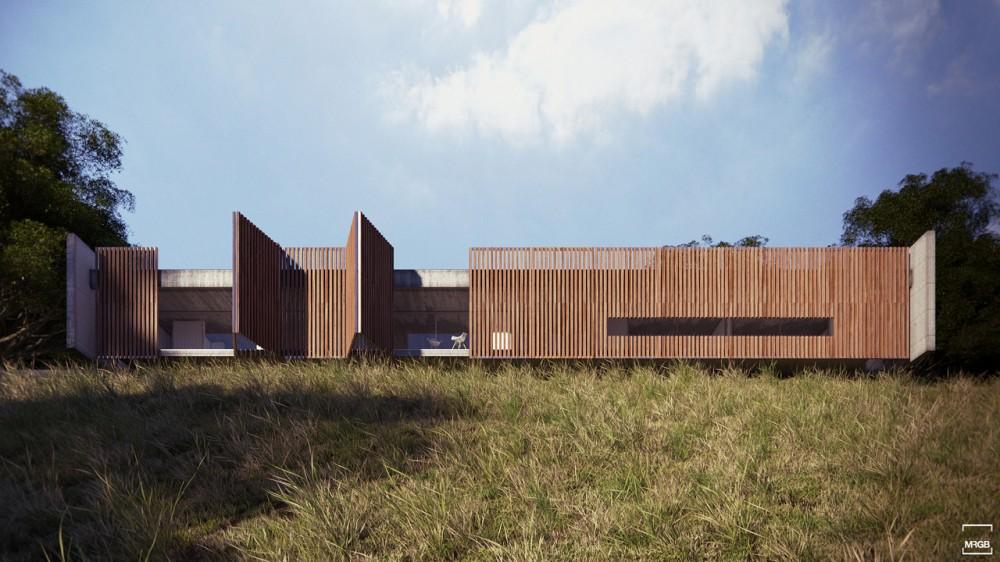 Casa en el Valle - Estúdio MRGB