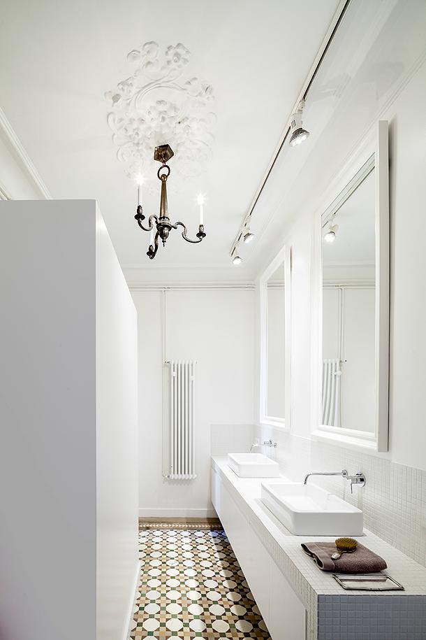 Cocina y baño minimalistas - Núria Selva / Loox