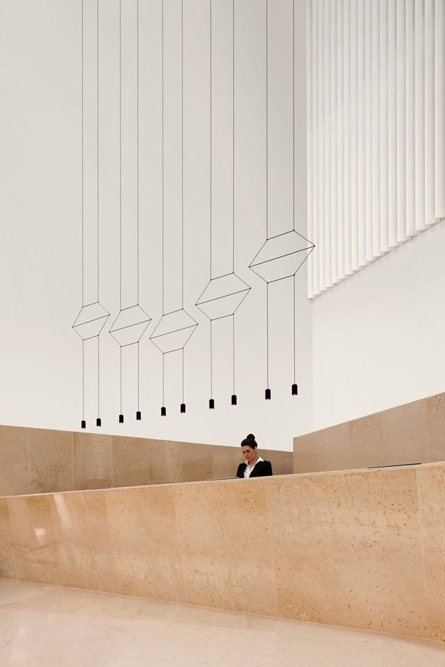 Colección de colgantes Wireflow - Arik Levy para VIBIA