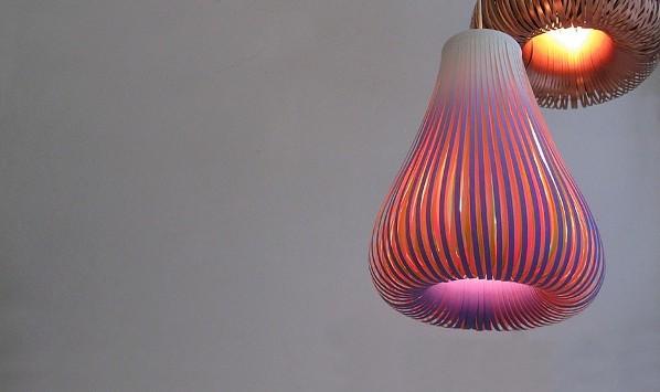 Lámparas de papel - Paula Arntzen Hang