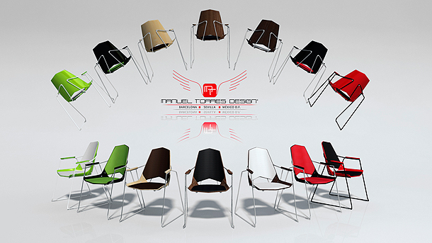 Milan Design Week 2013: Singular Chair - Manuel Torres Acemel