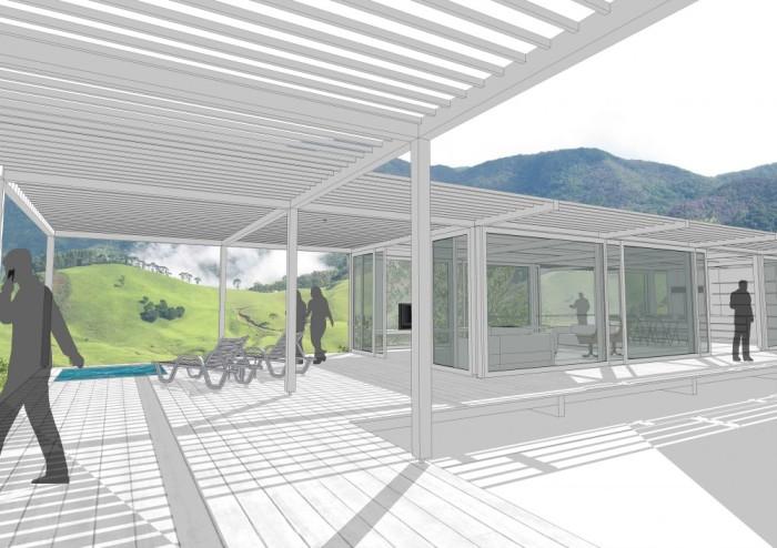 Casa en São Francisco Xavier - Nitsche Arquitetos Associados
