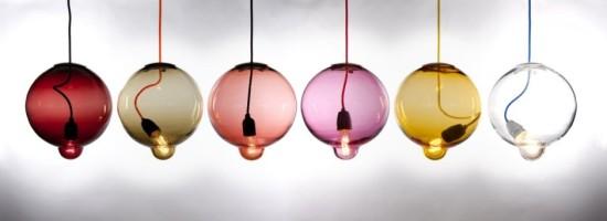 Lámparas Meltdown - Johan Lindstén