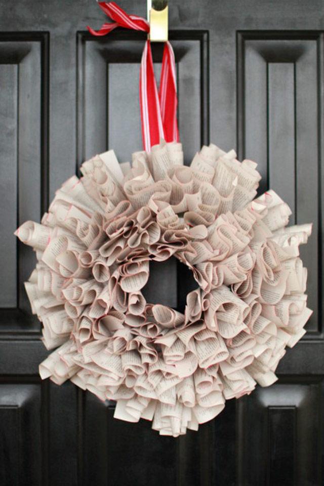 Tradicionales y llamativas Coronas de Navidad