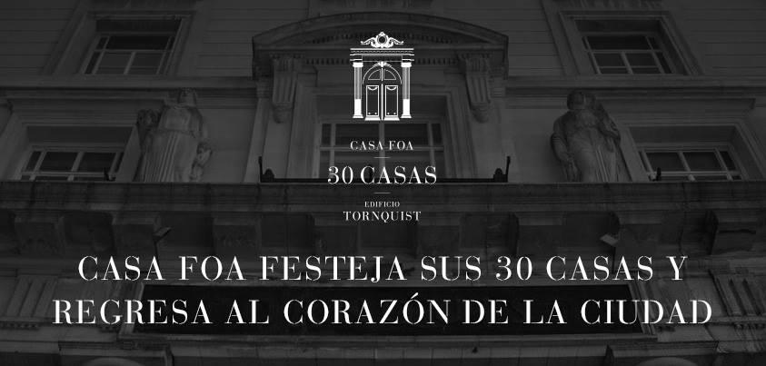 Casa FOA 2013 regresa al corazon de la ciudad