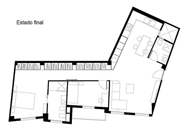 Reforma vivienda en Xirivella 02 - Negrosobreazul