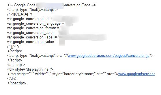 Google AdSense Script